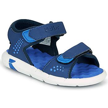 Zapatos Niño Sandalias Kickers JUMANGAP Azul