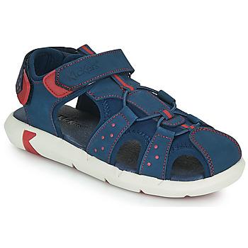Zapatos Niño Sandalias Kickers JUMANGE Marino