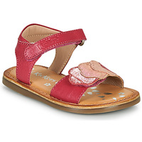 Zapatos Niña Sandalias Kickers DYASTAR Rosa
