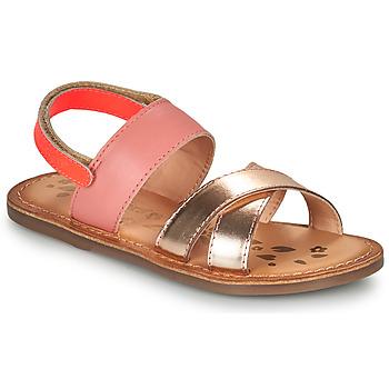 Zapatos Niña Sandalias Kickers DYACROSS Rosa