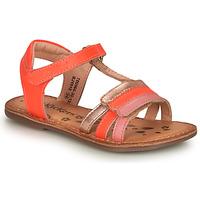 Zapatos Niña Sandalias Kickers DIAMANTO Rosa