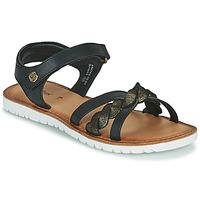 Zapatos Niña Sandalias Kickers BETTYL Negro