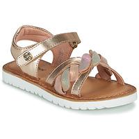 Zapatos Niña Sandalias Kickers BETTYL Rosa