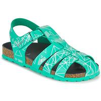 Zapatos Niño Sandalias Kickers SUMMERTAN Verde