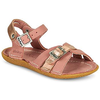 Zapatos Niña Sandalias Kickers PEPETE Rosa
