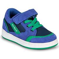 Zapatos Niño Zapatillas bajas Kickers BISCKUIT Azul