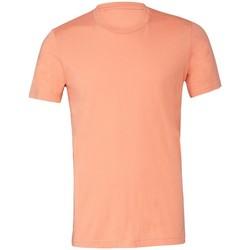 textil Camisetas manga corta Bella + Canvas CV3001 Naranja