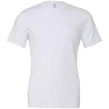 textil Camisetas manga corta Bella + Canvas CV3001 Blanco