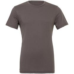 textil Camisetas manga corta Bella + Canvas CV3001 Gris