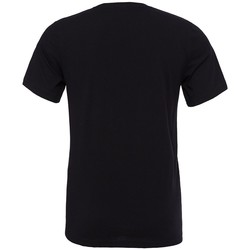 textil Camisetas manga corta Bella + Canvas CV3001 Negro