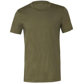 textil Camisetas manga corta Bella + Canvas CV3001 Verde