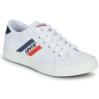 Zapatos Niño Zapatillas bajas Levi's MISSION Blanco