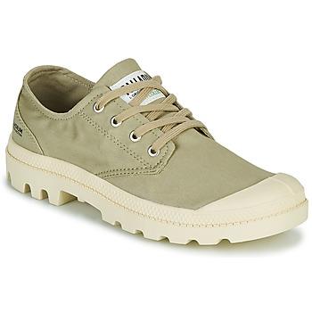 Zapatos Zapatillas bajas Palladium PAMPA OX ORGANIC II Verde