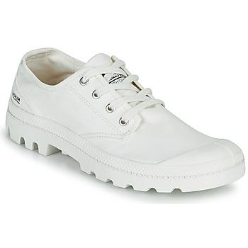 Zapatos Zapatillas bajas Palladium PAMPA OX ORGANIC II Blanco