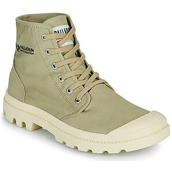 Zapatos Botas de caña baja Palladium PAMPA HI ORGANIC II Verde
