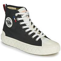 Zapatos Zapatillas altas Palladium PALLA ACE CVS MID Negro / Blanco