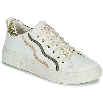 Zapatos Mujer Zapatillas bajas Palladium Manufacture TEMPO 02 CVSG Blanco