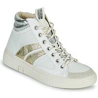 Zapatos Mujer Zapatillas altas Palladium Manufacture TEMPO 03 TXT Blanco