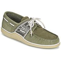 Zapatos Hombre Zapatos náuticos TBS GLOBEK Verde