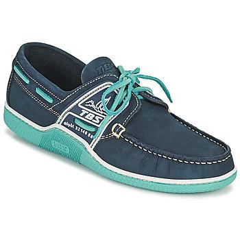 Zapatos Hombre Zapatos náuticos TBS GLOBEK Marino