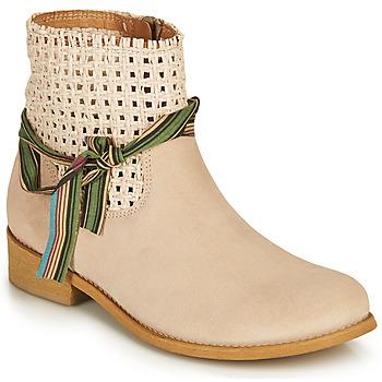 Zapatos Mujer Botas de caña baja Felmini BRENDA Beige