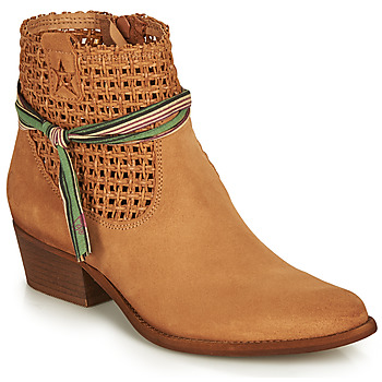Zapatos Mujer Botas de caña baja Felmini WEST Marrón