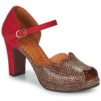 Zapatos Mujer Sandalias Chie Mihara NADILA Rojo