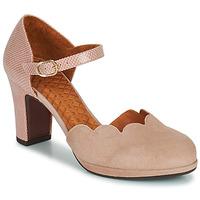 Zapatos Mujer Zapatos de tacón Chie Mihara SELA Rosa / Beige