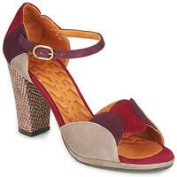 Zapatos Mujer Sandalias Chie Mihara ADAIR Burdeo / Beige