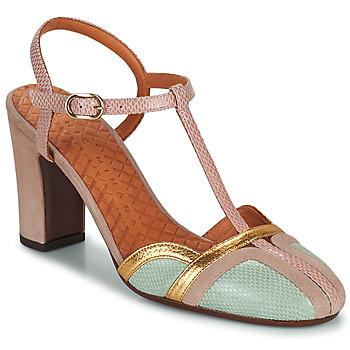 Zapatos Mujer Zapatos de tacón Chie Mihara INMA Beige / Rosa / Oro