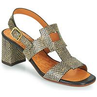 Zapatos Mujer Sandalias Chie Mihara LUSCA Negro / Beige