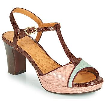 Zapatos Mujer Sandalias Chie Mihara NATI Marrón / Rosa / Verde