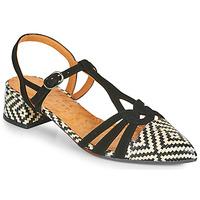 Zapatos Mujer Zapatos de tacón Chie Mihara ROSALI Negro / Beige