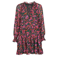 textil Mujer Vestidos cortos Moony Mood NOMINA Negro / Rosa