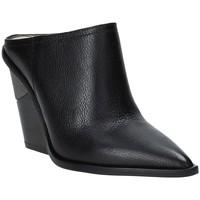 Zapatos Mujer Zuecos (Clogs) Studio Italia LOLITA Negro