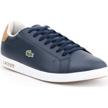Zapatos Hombre Zapatillas bajas Lacoste Graduate LCR3 118 1 SPM 7-35SPM00134C1 azul marino, marrón