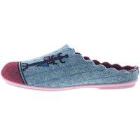 Zapatos Mujer Pantuflas Marpen Zapatillas de Casa  Habitación Gris