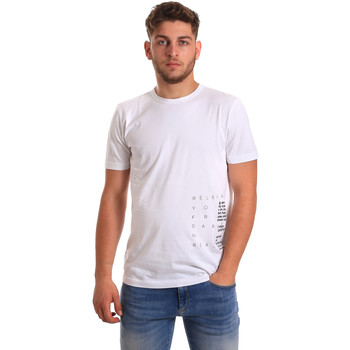 textil Hombre Camisetas manga corta Antony Morato MMKS01223 FA100144 Blanco