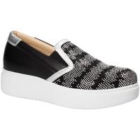 Zapatos Mujer Slip on Exton E02 Negro