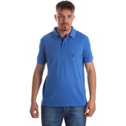 textil Hombre Polos manga corta Gaudi 911BU64063 Azul