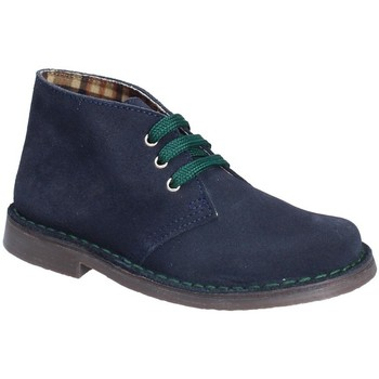 Zapatos Niños Botas de caña baja Grunland PO0577 Azul