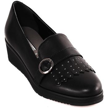 Zapatos Mujer Mocasín Grunland SC3141 Negro