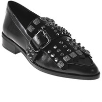 Zapatos Mujer Mocasín Elvio Zanon I7704G Negro