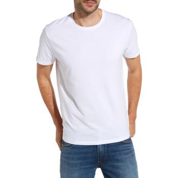 textil Hombre Camisetas manga corta Wrangler W7500F Blanco
