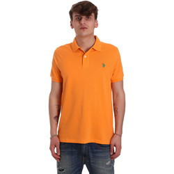 textil Hombre Polos manga corta U.S Polo Assn. 55957 41029 Naranja