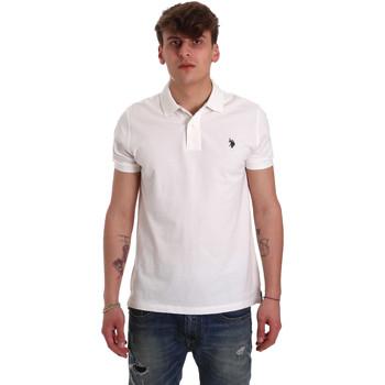 textil Hombre Polos manga corta U.S Polo Assn. 55957 41029 Blanco
