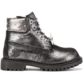 Zapatos Niños Botas de caña baja Lumberjack SG00101 013 A11 Negro