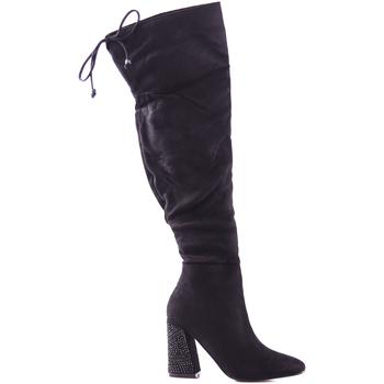Zapatos Mujer Botas a la rodilla Gold&gold B18 GJ13 Negro