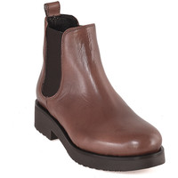 Zapatos Mujer Botines Mally 5535 Marrón