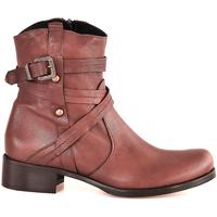 Zapatos Mujer Botines Mally 6431 Marrón